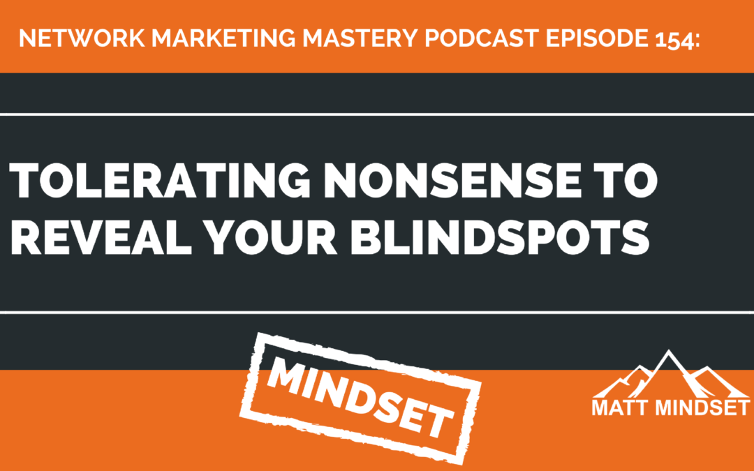 154: Tolerating Nonsense to Reveal Your Blindspots